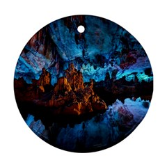Reed Flute Caves 1 Ornament (round)  by trendistuff