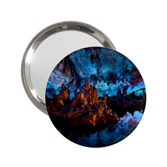 Reed Flute Caves 1 2 25  Handbag Mirrors by trendistuff