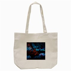 Reed Flute Caves 1 Tote Bag (cream)  by trendistuff