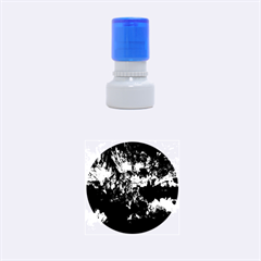 Reed Flute Caves 1 Rubber Round Stamps (small) by trendistuff