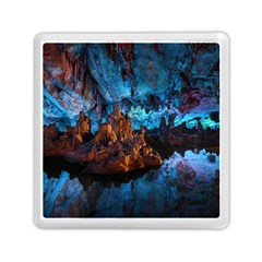 Reed Flute Caves 1 Memory Card Reader (square)  by trendistuff