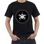 Star Skull Men s T-Shirt (Black)