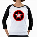 Star Skull Girly Raglans