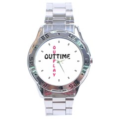 Outtime / Outplay Stainless Steel Men s Watch