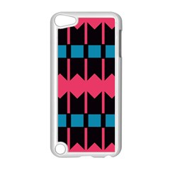 Rhombus And Stripes Pattern			apple Ipod Touch 5 Case (white) by LalyLauraFLM