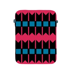 Rhombus And Stripes Pattern			apple Ipad 2/3/4 Protective Soft Case by LalyLauraFLM