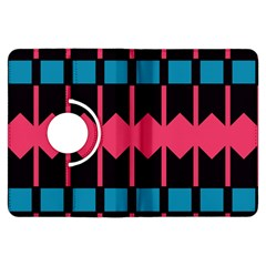 Rhombus And Stripes Patternkindle Fire Hdx Flip 360 Case by LalyLauraFLM