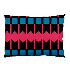 Rhombus And Stripes Pattern			pillow Case by LalyLauraFLM