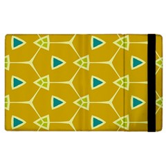 Connected Triangles			apple Ipad 3/4 Flip Case by LalyLauraFLM