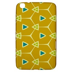 Connected Trianglessamsung Galaxy Tab 3 (8 ) T3100 Hardshell Case by LalyLauraFLM