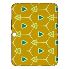 Connected Trianglessamsung Galaxy Tab 3 (10 1 ) P5200 Hardshell Case by LalyLauraFLM
