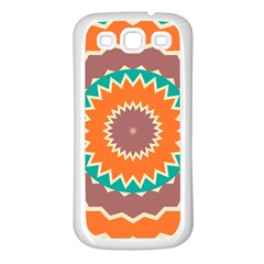 Hypnotic Star			samsung Galaxy S3 Back Case (white) by LalyLauraFLM