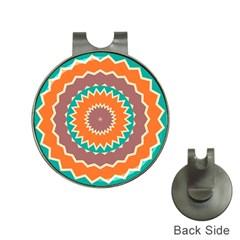 Hypnotic Stargolf Ball Marker Hat Clip by LalyLauraFLM