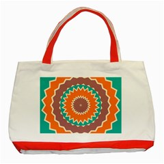 Hypnotic Starclassic Tote Bag (red) by LalyLauraFLM
