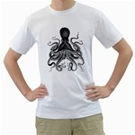 Vintage Octopus Men s T-Shirt (White)