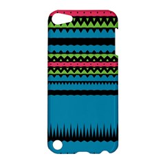 Chevrons And Triangles			apple Ipod Touch 5 Hardshell Case by LalyLauraFLM