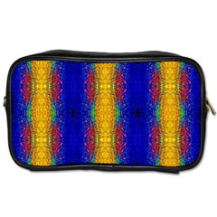 Cool  Abstract Neon Pattern Toiletries Bags