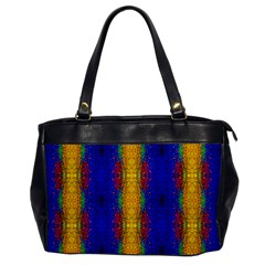Cool  Abstract Neon Pattern Office Handbags by Costasonlineshop
