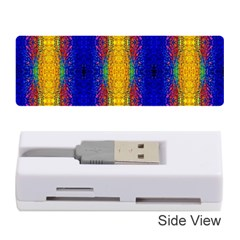 Cool  Abstract Neon Pattern Memory Card Reader (stick)  by Costasonlineshop
