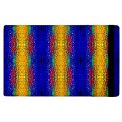 Cool  Abstract Neon Pattern Apple Ipad 3/4 Flip Case by Costasonlineshop