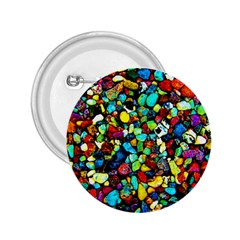 Colorful Stones, Nature 2.25  Buttons by Costasonlineshop