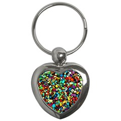 Colorful Stones, Nature Key Chains (heart)  by Costasonlineshop