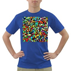 Colorful Stones, Nature Dark T Shirt by Costasonlineshop