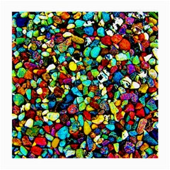 Colorful Stones, Nature Medium Glasses Cloth (2 Side) by Costasonlineshop
