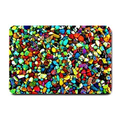 Colorful Stones, Nature Small Doormat  by Costasonlineshop