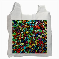 Colorful Stones, Nature Recycle Bag (one Side)