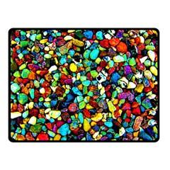 Colorful Stones, Nature Fleece Blanket (small) by Costasonlineshop