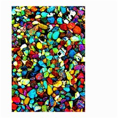 Colorful Stones, Nature Small Garden Flag (two Sides) by Costasonlineshop