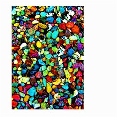 Colorful Stones, Nature Large Garden Flag (two Sides) by Costasonlineshop