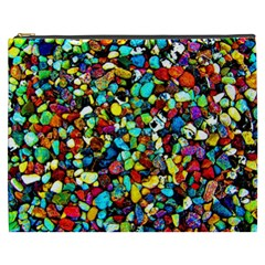 Colorful Stones, Nature Cosmetic Bag (XXXL)  by Costasonlineshop