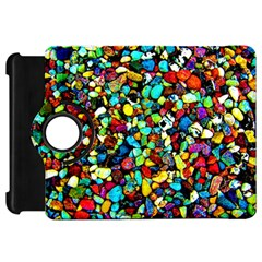 Colorful Stones, Nature Kindle Fire Hd Flip 360 Case by Costasonlineshop