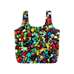 Colorful Stones, Nature Full Print Recycle Bags (s)