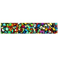 Colorful Stones, Nature Flano Scarf (large)  by Costasonlineshop