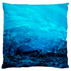 Mendenhall Ice Caves 3 Large Cushion Cases (two Sides)  by trendistuff