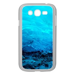 Mendenhall Ice Caves 3 Samsung Galaxy Grand Duos I9082 Case (white) by trendistuff