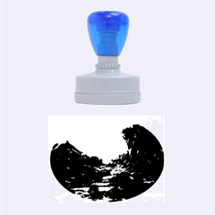 Mendenhall Ice Caves 2 Rubber Oval Stamps