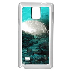 Mendenhall Ice Caves 2 Samsung Galaxy Note 4 Case (white) by trendistuff