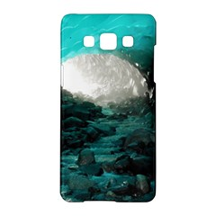 Mendenhall Ice Caves 2 Samsung Galaxy A5 Hardshell Case  by trendistuff