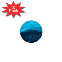 Mendenhall Ice Caves 1 1  Mini Buttons (10 Pack)  by trendistuff