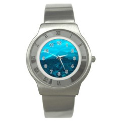 Mendenhall Ice Caves 1 Stainless Steel Watches by trendistuff