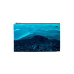 Mendenhall Ice Caves 1 Cosmetic Bag (small)  by trendistuff