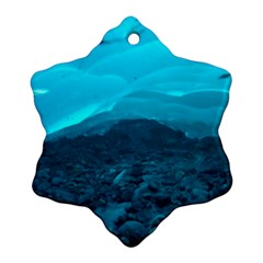 MENDENHALL ICE CAVES 1 Snowflake Ornament (2-Side) by trendistuff