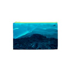 Mendenhall Ice Caves 1 Cosmetic Bag (xs) by trendistuff