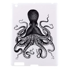 Vintage Octopus Apple Ipad 3/4 Hardshell Case by waywardmuse