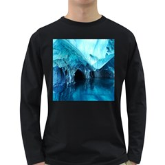 Marble Caves 3 Long Sleeve Dark T Shirts by trendistuff
