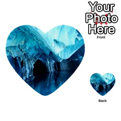 Marble Caves 3 Multi Purpose Cards (heart)